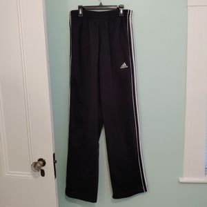 NWOT Adidas sweatpants, M, black and white